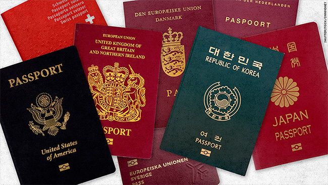 Singapore passport is the world's second-most 'powerful