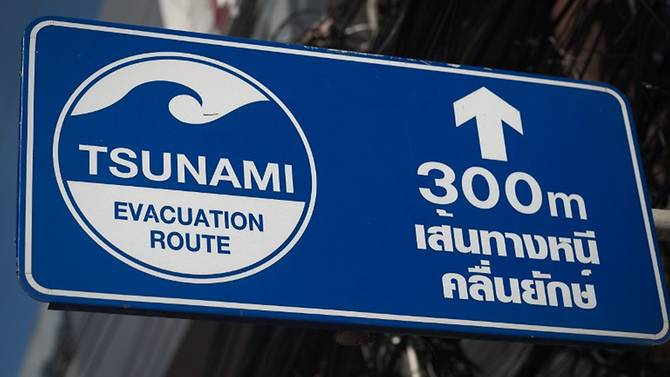 Up to 80% of Thailand's tsunami warning system needs maintenance
